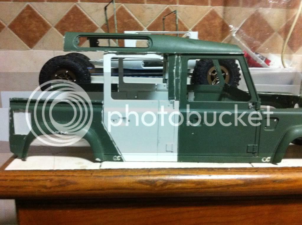 Coldman - Coldman's Defender D110 pickup. IMG_1475