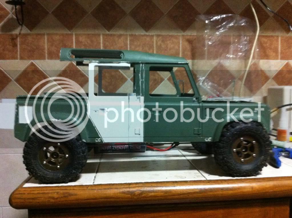 Coldman - Coldman's Defender D110 pickup. IMG_1477
