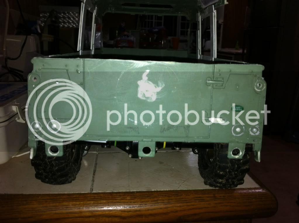 Coldman - Coldman's Defender D110 pickup. IMG_1482