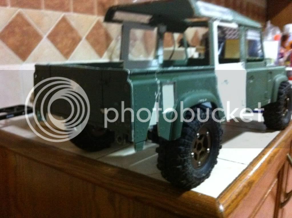 Coldman - Coldman's Defender D110 pickup. IMG_1483