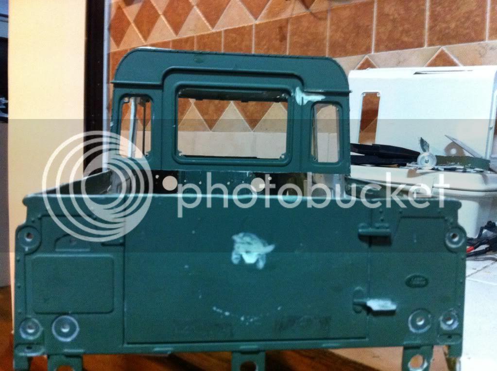 Coldman - Coldman's Defender D110 pickup. IMG_1493