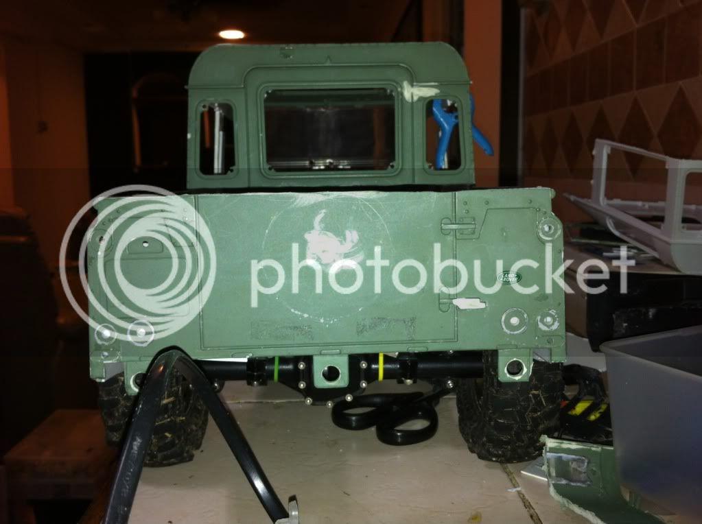 Coldman - Coldman's Defender D110 pickup. IMG_1495