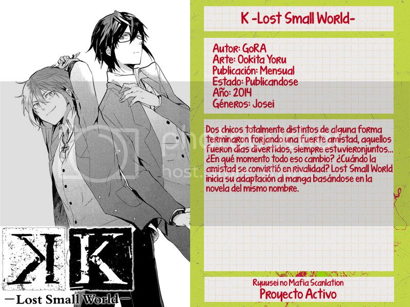 [K -LostSmallWorld-]Tomo 1, Caps. 00-06 K%20lost