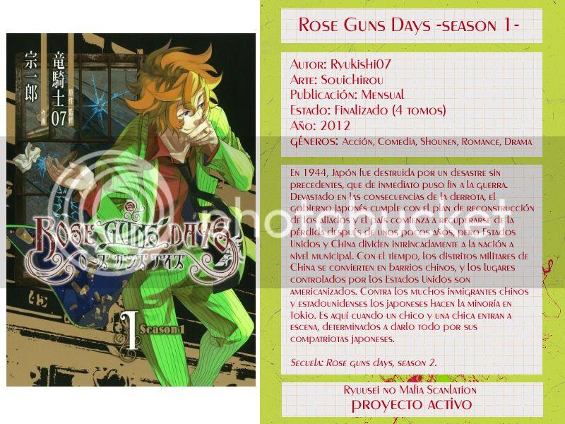 [RoseGuns] Season 1, Caps. 00-?? Roseguns