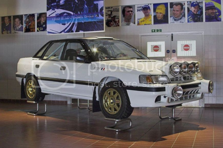 1/18 Otto Subaru Legacy just announced!!! SubaruLegacyRS-museum_zpsmn9ciifo