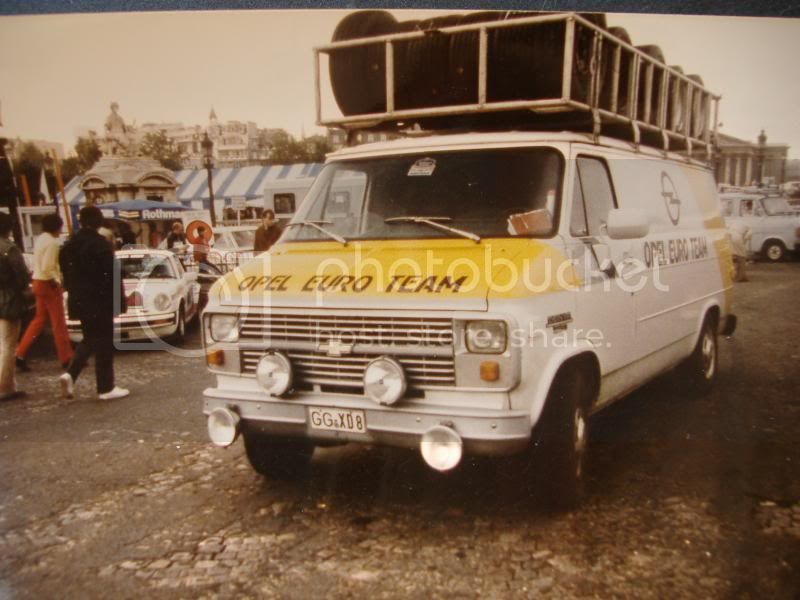 NEW NEVER before produced Rally Service Van------------------ Ta842