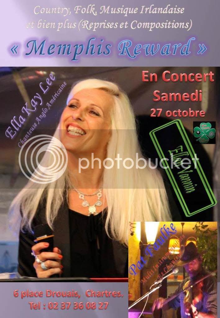 Ellan Vannin, Chartres, Soiree Concert 27 octobre 2012
