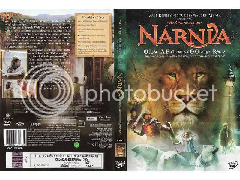 As Crônicas de Narnia - O Leão, a Feitiçeira eo Guarda Roupa DVD-R 5D91CA_1