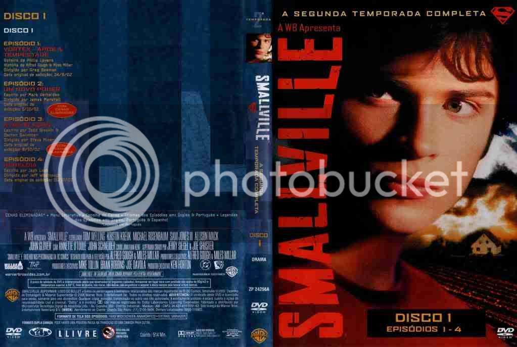 Smallville 2ª Temporada DVD-R Smallville-T02-D1