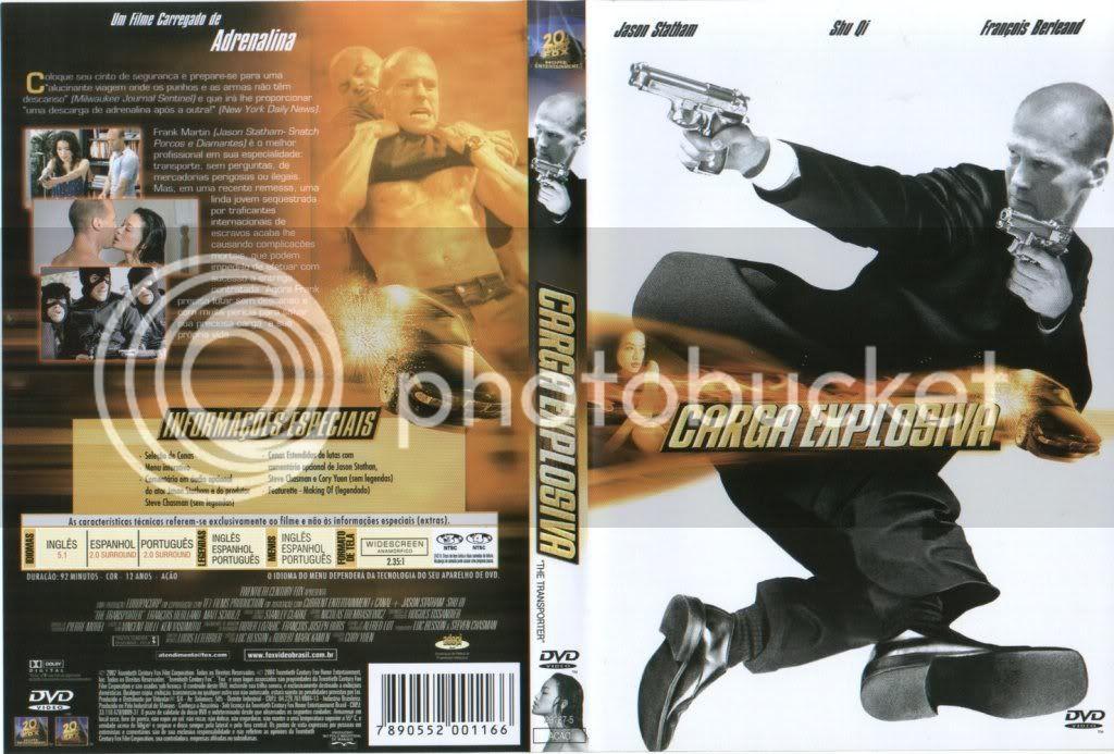 Carga Explosiva 1 - (The Transporter ) DVD-R Cargaexplosiva1