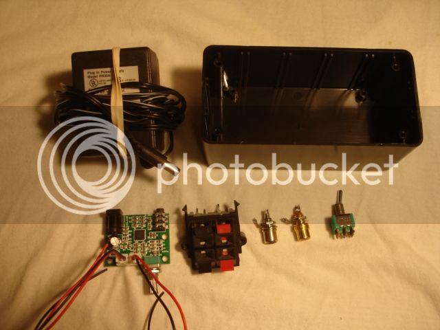PAM8610 amp Amp001