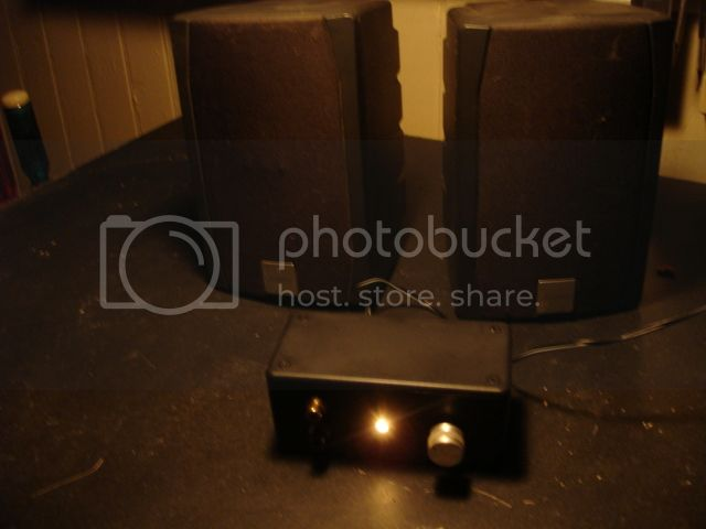 PAM8610 amp Amp009