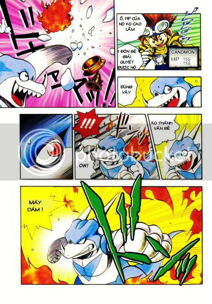 Digimon V-Tamer Chap 11 V-Tamerchap11-11