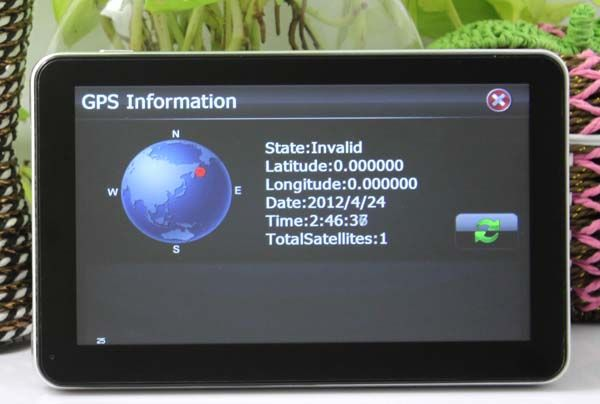 "7"" Atlas 5 A5 600Mhz 800*480 Portable GPS Navigation 4GB Newest Map Free Update IMG_6272"