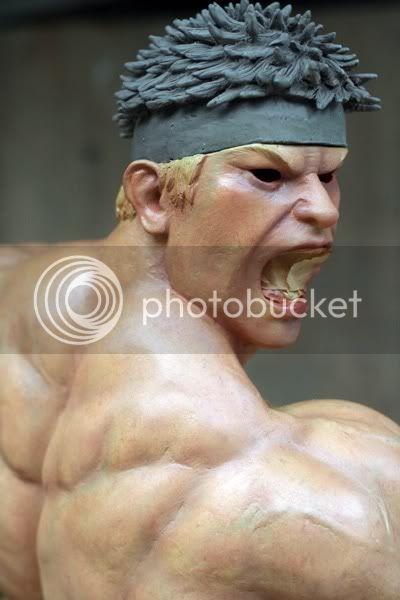 Street Fighter RYU   Half scale statue 747eeb08