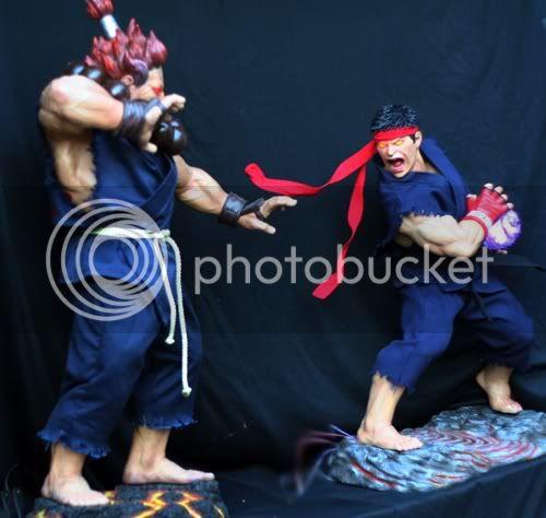 Street Fighter RYU   Half scale statue A6a5c128