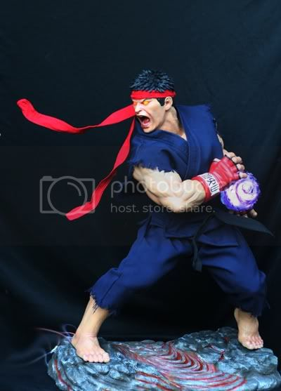 Street Fighter RYU   Half scale statue Bf71a00d