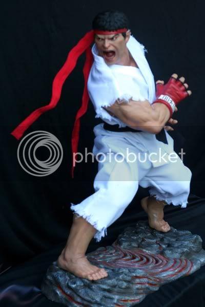 Street Fighter RYU   Half scale statue C95339e7