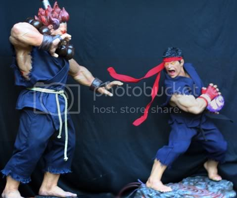 Street Fighter RYU   Half scale statue E7f0b4f5
