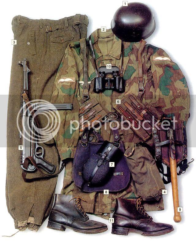 Parachutistes Allemands FallschirmjagerUnteroffizierCorpora