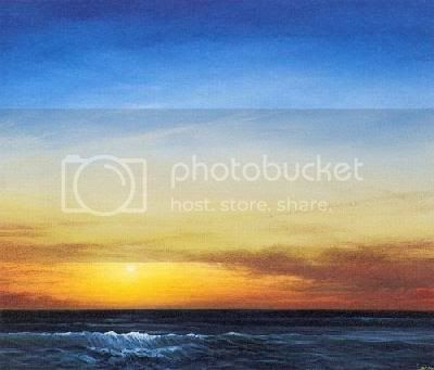 To my childhood then Derek-Hare-Sunset-Over-the-Sea-6-1