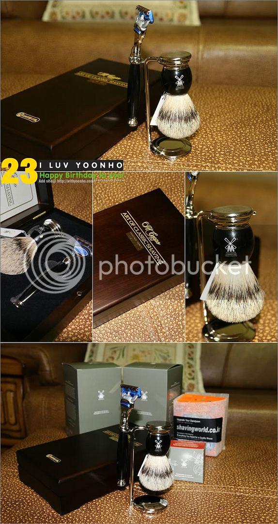 [PICS] Yunho's Bdays gifts 2008 1202316260_shaving
