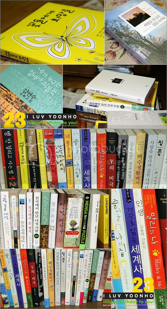 [PICS] Yunho's Bdays gifts 2008 1202316345_book