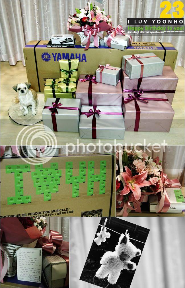 [PICS] Yunho's Bdays gifts 2008 1202316420_full