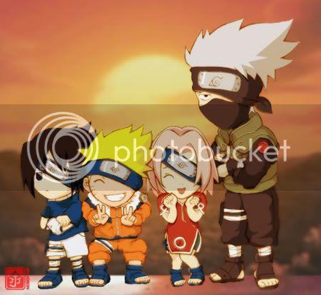 Cual es vuestro personaje preferido? - Página 3 Chibi_Team_Kakashi