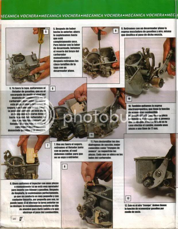 Como limpiar a fondo el carburador 46