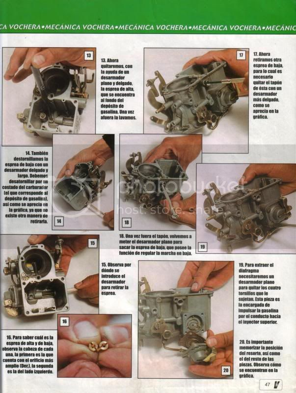 Como limpiar a fondo el carburador 47