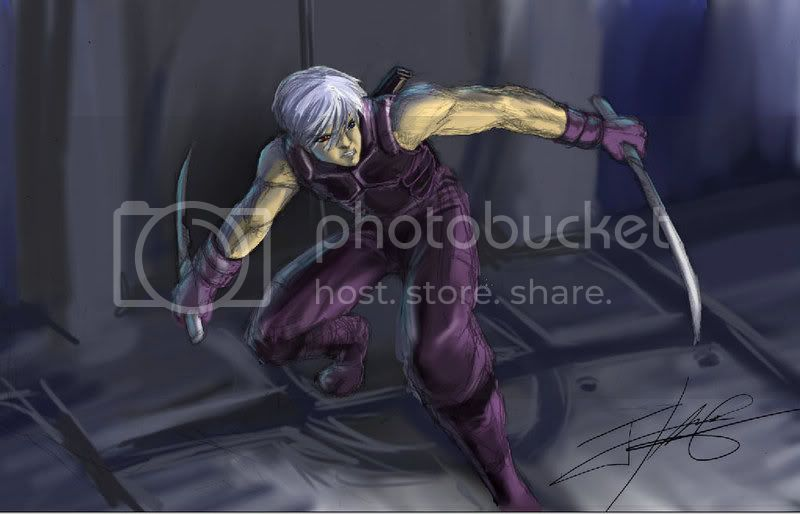 Tello's pix's Mercenary___Blader_by_Ravis