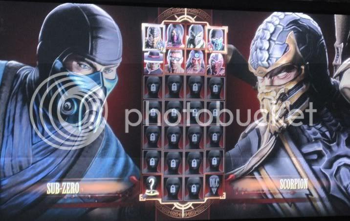 Mortal Kombat 9 ¿Alguien pidió a Kratos de GoW? Mk9select