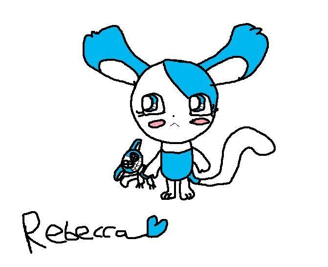 Frostie's Art work Rebecca
