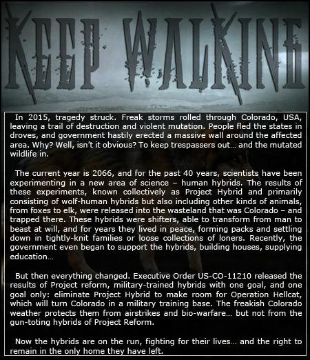 KEEP WALKING - animal-human hybrid rp Newadfalltwentytwelve