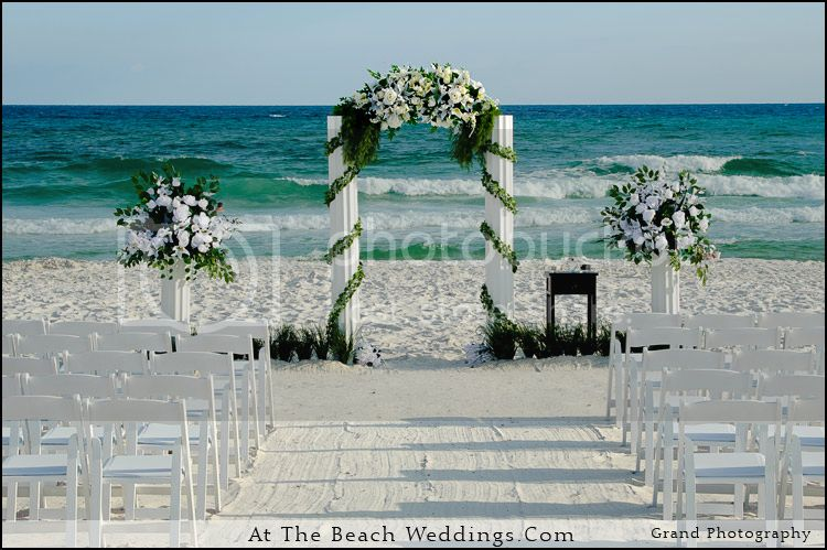 The Perfect Assistant Destin-beach-wedding-arch-photo-1