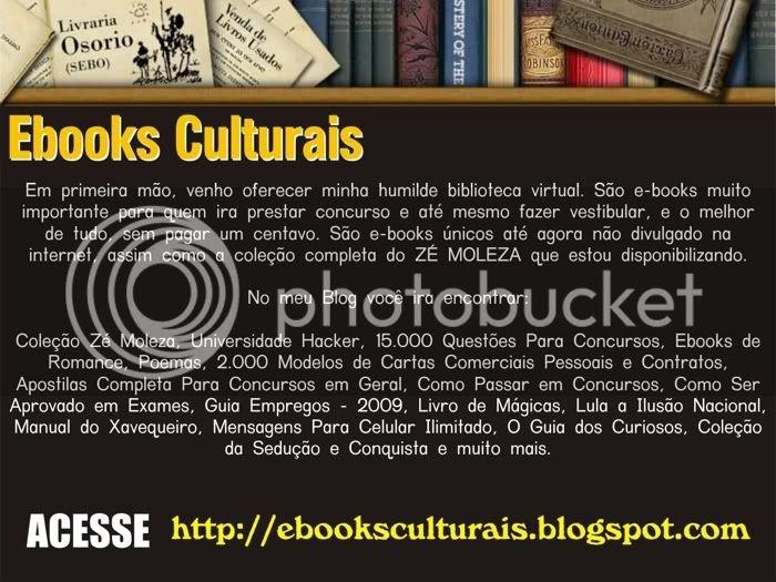 Minha Biblioteca Virtual (Ebooks para Concursos) Ebookcultural