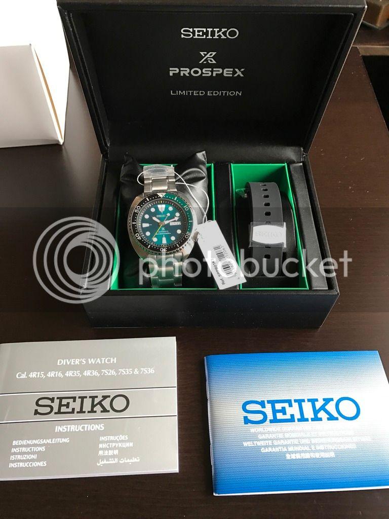 Seiko Tortuga Edición Limitada Verde SRPB01 IMG_0816_zpsjbnxurv7