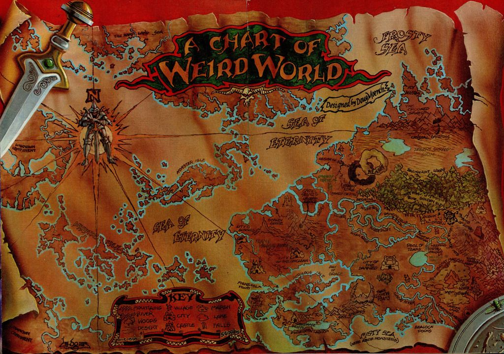 Weirdworld Weirdworldmap