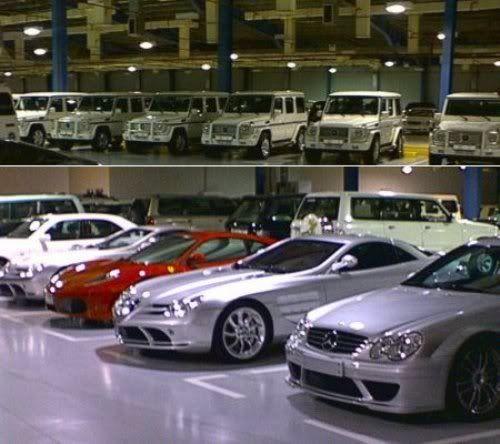 CASA REAL DE BRUNEI Sultan-of-Brunei-Car-Collection