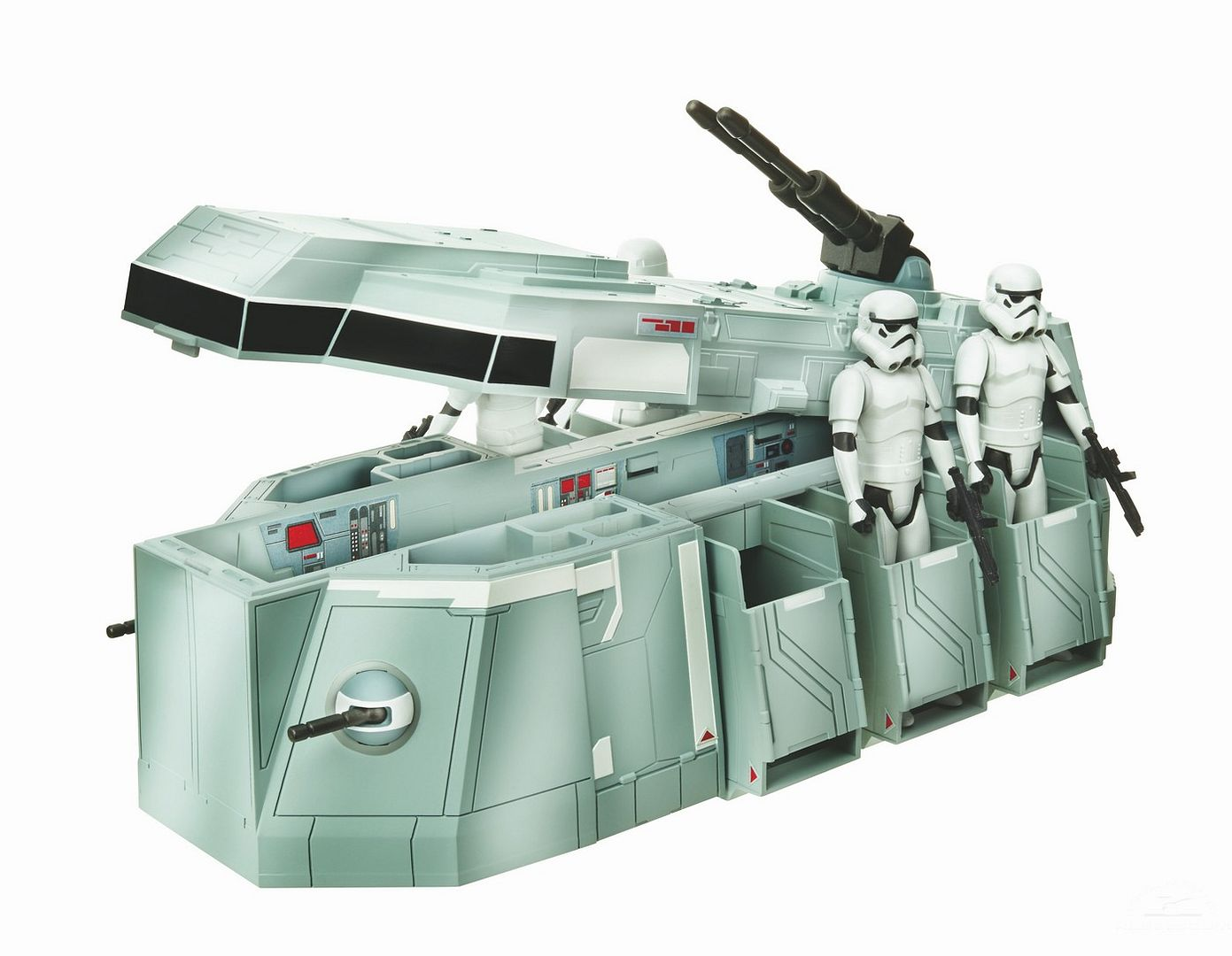 Things that were created by Kenner that appeared on screen later. 329391_StarWars_Imperial_Transport_Open_2_Troopers_zpsddaa863f