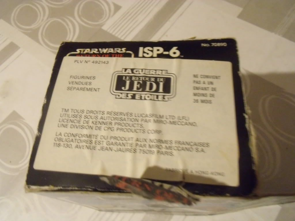 PROJECT OUTSIDE THE BOX - Star Wars Vehicles, Playsets, Mini Rigs & other boxed products  - Page 2 DSCF6394