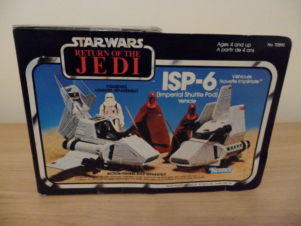 PROJECT OUTSIDE THE BOX - Star Wars Vehicles, Playsets, Mini Rigs & other boxed products  - Page 2 SAM_2244