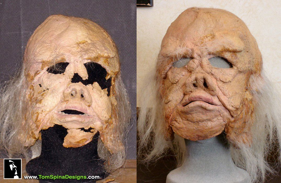 Star Wars - The Cool Weird Freaky Creepy Side of The Force - VOL 2 - Page 2 Star-Wars-Movie-Prop-Ugnaught-Mask-Restoration-1c_zps845c4f2b