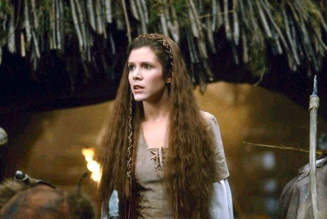 OT - There Is Something About Leia LeiaEndor