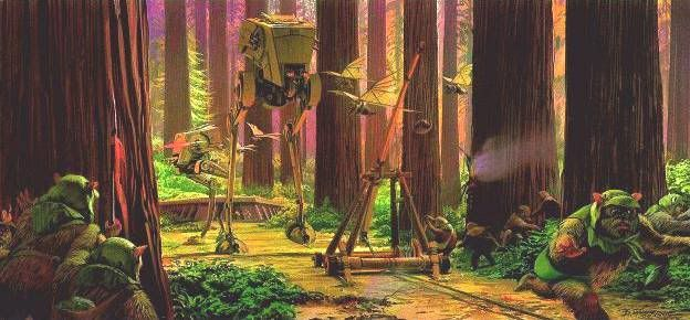 PROJECT OUTSIDE THE BOX - Star Wars Vehicles, Playsets, Mini Rigs & other boxed products  - Page 2 Mcquarrie_Catapult
