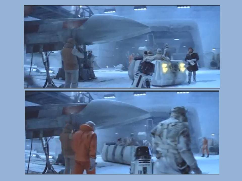 Things that were created by Kenner that appeared on screen later. RebelTroopTransport