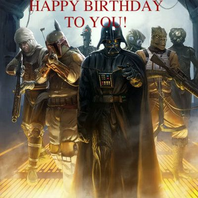 Happy Birthday Liam (Dark Sith Lord) SithBirtday