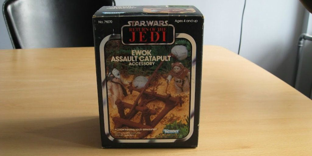PROJECT OUTSIDE THE BOX - Star Wars Vehicles, Playsets, Mini Rigs & other boxed products  - Page 2 Sw_Ewok_Assault_Catapult_rotj_Kenner001