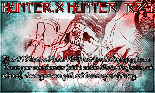Hunter x Hunter Rpg Advertisement  Hxhadbanner